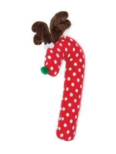 Crinkle Cane Deer Toy