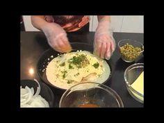 Folhado de Sardinha com Ovos e Cebola