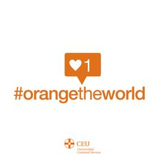 We joined the #OrangeTheWorld initiative and turned our university orange against violence.