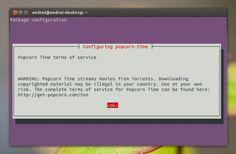 Getting to know about Popcorn Time is a free and open source media player Netflix-style torrent streaming application for Linux, Windows and Mac. updated application version 0.3.1 today, getting new features and important bug fixes. The application allows users to free stream movies (with subtitles) and TV series starting with the new 0.3 version. The program streams pirated films directly …