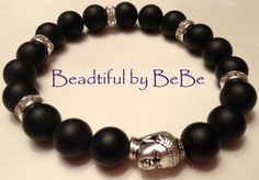 Enlightenment~with matte black beads
