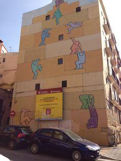 Street art Tarragona.