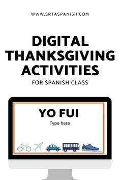 Are you looking for Thanksgiving activities for your Spanish classes? Your Spanish classroom will love these writing activities for before or after break! Perfect for middle school and high school students to share about their plans! Use them as stations or as separate activities to celebrate Día de Acción de Gracias in your Spanish class! #spanishclass #secondaryspanish Spanish Activities, Writing Activities, English Past Tense, Middle School Spanish, Spanish Lesson Plans, Sentence Starters, Spanish 1, Spanish Classroom, Thanksgiving Activities