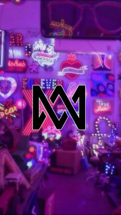 Marcus Y Martinus, M Wallpaper, Bars And Melody, Love U Forever, True Blood, Loving U, Phone Backgrounds, Good Music, Neon Signs