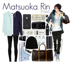 """""""Matsuoka Rin [Free!]"""" by anggieputeri ❤ liked on Polyvore featuring Converse, rag & bone, H&M, Violeta by Mango, Christian Dior, Dolce&Gabbana, Topshop, Linum Home Textiles, Incase and Aesop"""