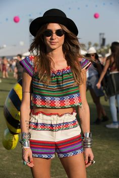 They Are Wearing: Coachella Weekend One - #coachella