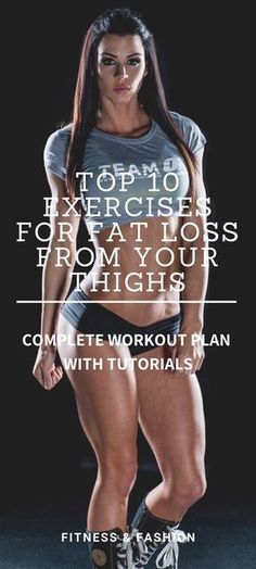 Top 10 Best Exercises for Leg Day – Best Way to Lose Fat from Your Thighs and Gain Muscle...