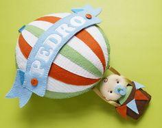Enfeite Bebê no Balão