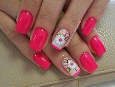 Nails pink #2