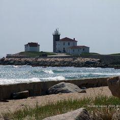 The Wall - Lighthouse - East  Beach - Watch Hill, Rhode Island