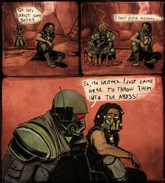 This is why I don't open iFunny in public Fallout Comics, Fallout Funny, Fallout Fan Art, Fallout Concept Art, Ncr Ranger, Character Art, Character Design, Nuclear Winter, Fallout New Vegas