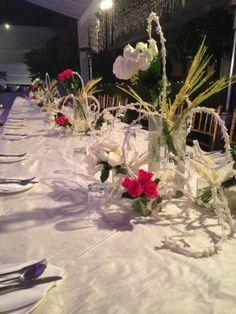 Wazwan banquet arrangement by Yuna Weddings