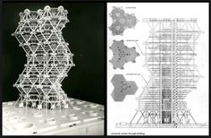 Philadelphia City Tower proposal (1956-57) | Louis Kahn and Anne Tyng