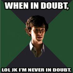 Sherlock knows all