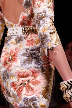 Balmain Spring 2012 RTW- Details | Refined Style