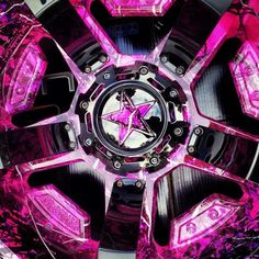 Muddy girl hydro dipped rims