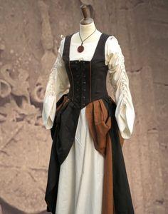 KOSTÜMTRUHE | Verkauf & Versandhandel, mittelalterliche Kleidung, Kostüme & Gewandungen, Zubehör aus Ritterzeit und Piratentum - 3-teilige Gewandung Medieval