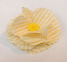 Fabric Flowers, how to make fabric flowers, step by step with pictures, #crafts, #fabric flowers, #decor