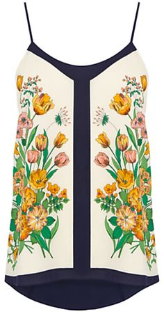 Oasis Tulip Floral Scarf Camisole, Multi on shopstyle.co.uk