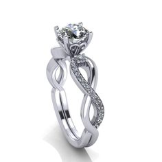 Engagement ringsmoissanite engagement rings by fabiandiamonds