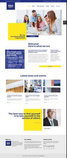 Template site internet entreprise
