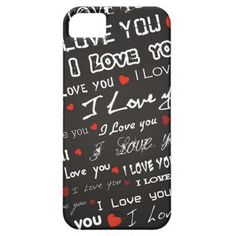 Love I Love You iPhone 5 Cases