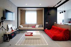 Big City Apartment, Big City Apartment Design Bureau Nika Vorotyntseva, Design Bureau Nika Vorotyntseva - http://architectism.com/big-city-apartment-design-bureau-nika-vorotyntseva/