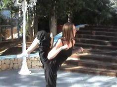 Chloe Bruce amazing Scorpion kick... I want to do this!!