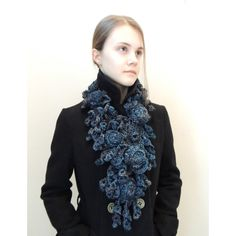 RoseOnie Scarf in a soft bulky Merino Wool, Ready to ship, Scarf, Rose... ($85) ❤ liked on Polyvore featuring accessories, scarves, lace shawl, lacy scarves, oblong scarves, long shawl and merino wool shawl