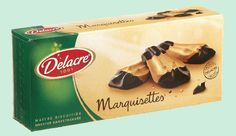 DELACRE Marquisettes biscuits choclat 175 g Biscuit Delacre, Biscuits, Cantaloupe, Snacks, Fruit, Desserts, Crack Crackers, Tailgate Desserts, Cookies