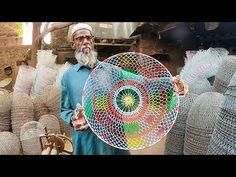 Wonderful Wire Basket Making By Talented Craftsmen - YouTube Kitchen Baskets, Wire Baskets, Apple Wallpaper, Wire Weaving, Wire Work, Craftsman, How To Make, Youtube, Lamp Shades