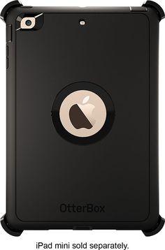 Otterbox - Defender Series Case for Apple® iPad® mini - Black
