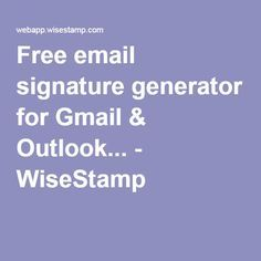 how to add 2 signatures for gmail