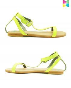 Irina Slick Pop Sandals by Rhythm and Shoes