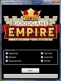 GoodGame Empire Hack Tool Free Download No Survey