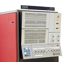 IBM System/360 main console. The initial announcement of the System/360 in 1964 included Models 30, 40, 50, 60, 62, and 70.