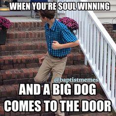 #submission from @sethcastleberry! -@gmx0 #BaptistMemes #SoulwinningSaturday