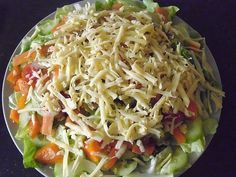 Chefsalat 4 Source by motykakarina The post Chefsalat appeared first on Die schönsten Salate. Low Carb Shrimp Recipes, Shrimp Recipes For Dinner, Healthy Pasta Recipes, Healthy Meal Prep, Vegetable Recipes, Healthy Snacks, Clean Eating Shrimp, Chef Salad, Shrimp Pasta