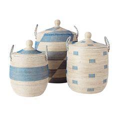 La Jolla Baskets – Blue | Serena & Lily. laundry basket