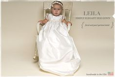 Love the Christening gowns on this website!!!