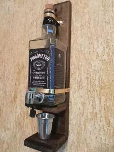 lindo pingometro garrafa de whisky de 1 litro.