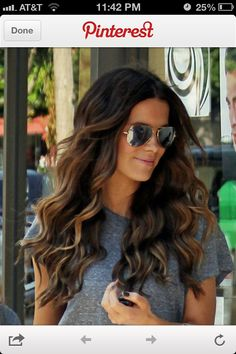 Lowlights I want my hair like this for spring I think