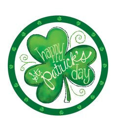 Spread fun and cheer with our St. Patricks Day Cheer Dinner Plates. Our lunch plates feature a white background with a large shamrock and a inchesHappy St. Patricks Day.inches headline. This pack has