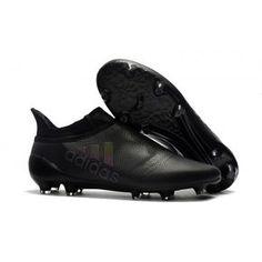 sports shoes 91095 647dd Botas de fútbol de hombre Adidas X 17+ Purechaos FG Todo Negro