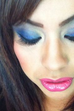 Feeling Blue? Makeup by www.noraartistry.com