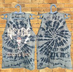 AC/DC Rock Or Bust Bleached Tank Top Tour 2016  by DesignerPride