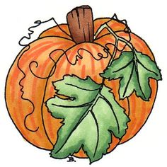 Thanksgiving Pumpkin Clipart
