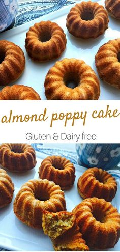 I have an old recipe from a friend for an almond poppy seed cake that has been a staple in my house for years. I always had one in the freezer ready for unexpec