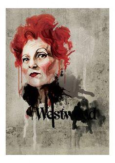 Folio - Illustration Agency | Mark Dickson - Portrait • People • Modern illustrator | Vivienne Westwood