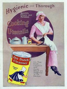Vintage Household Ads of the 1910s